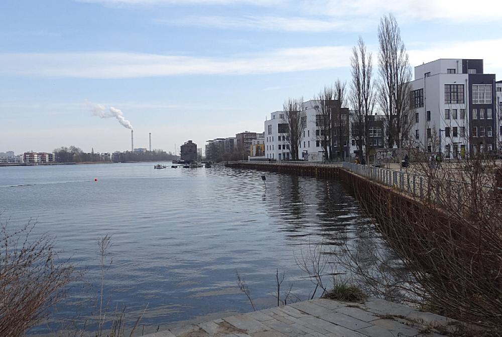 Blick in die Rummelsburger Bucht 2015