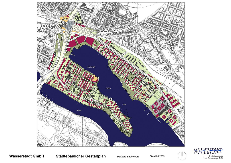 Gestaltsplan Rummelsburger Bucht